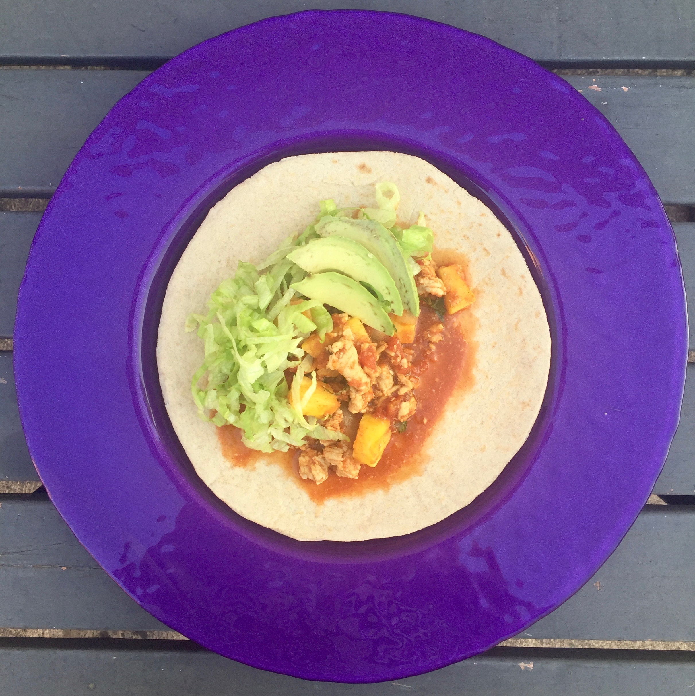 Chicken and Pineapple Tacos