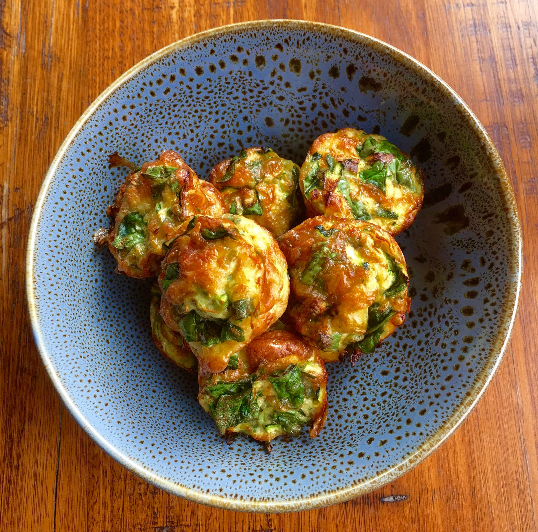 Green Egg Muffins