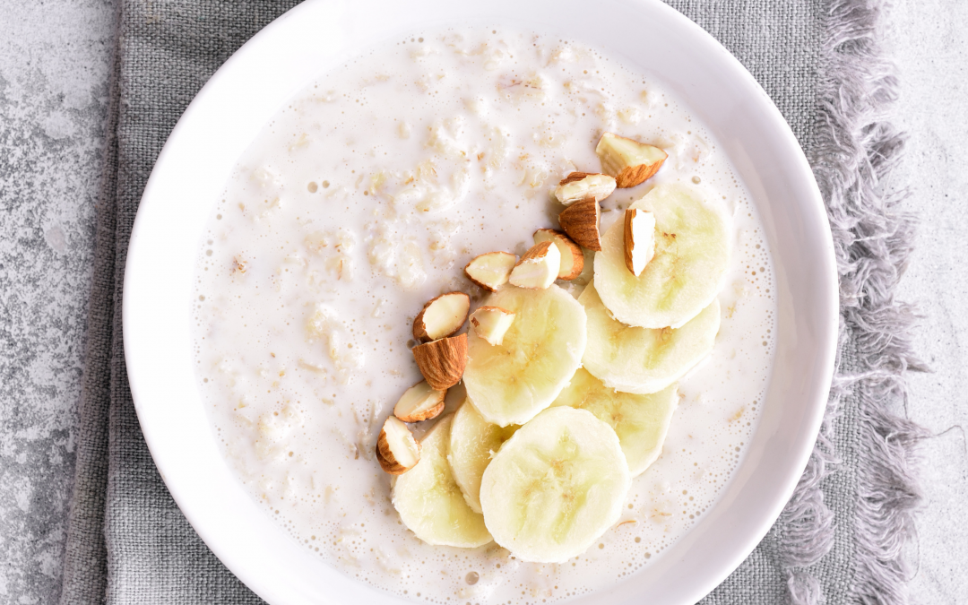 Banana Coconut Slow Cooker Oats