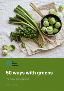 The Simple Lunchbox - 50 Ways with Greens ebook - Cover