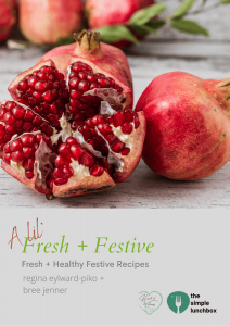 The Simple Lunchbox - The Lil' Fresh + Festive Ebook - Cover