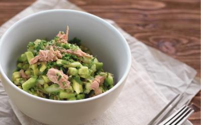 Super Quick Avocado Tuna Dip